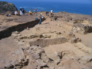 Excavations at Ponta de Atalaia