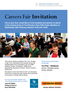 Careers Fair Albufeira