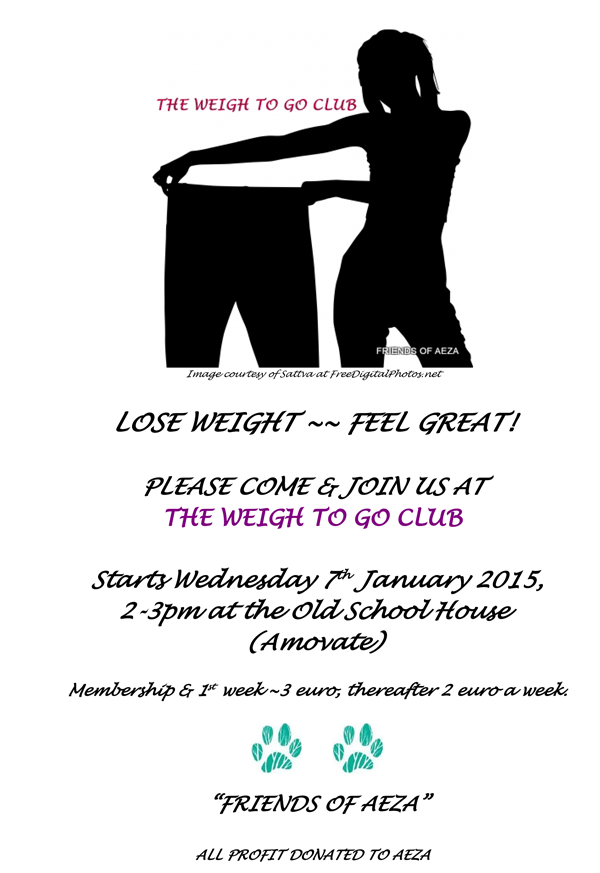 The Weigh To Go Club