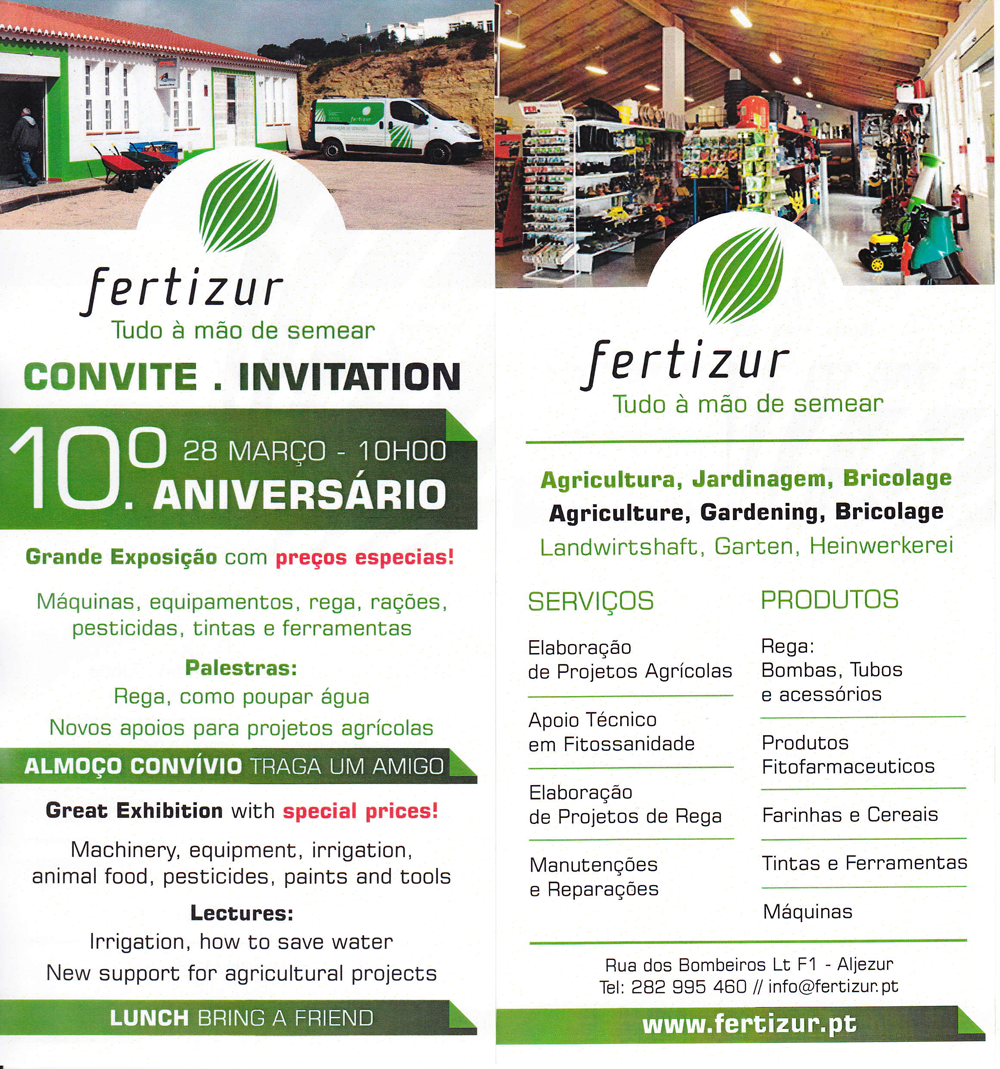 Fertizur 10th Anniversary Celebration – 28th March