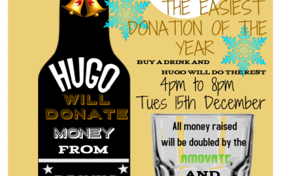 Charity Afternoon At Hugo's bar – Tuesday 15th