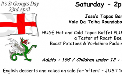 St George's Day Event – 23rd April