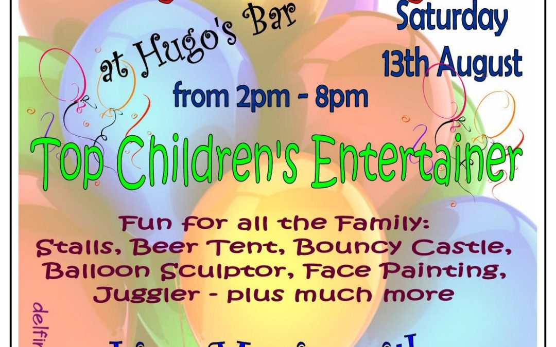 Family Fun Day – 13th August